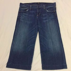 Citizen of humanity Capris Size 28